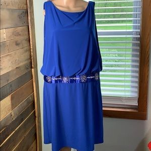 Scarlett Like New Royal Blue Dress 16